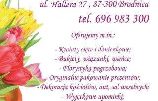 """Kwiaciarnia """"Kwiatowy Zakątek"""" Brodnica"""