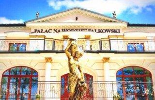 Uzdrowisko Augustów Pałac Na Wodzie Falkowski Augustów