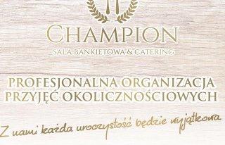Sala Restauracyjno-Bankietowa Champion Elbląg