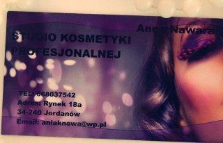 Studio Kosmetyki Profesjonalnej Anna Nawara Jordanów