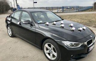 Auto BMW do ślubu z kierowcą Warszawa