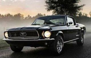 Zabytkowy, retro samochód, oldmobil Mustang 67 Muscle Car Limanowa