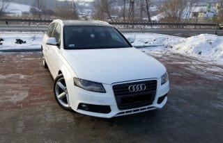 Audi a4 na ceremonię ślubu Gródek nad Dunajcem