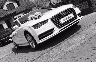 Audi A7 do ślubu Kraków