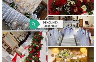 Dekolinex  dekoracje weselne i okolicznościowe Wiesława Milcz Łobez