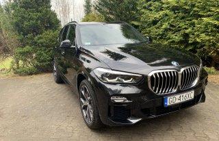 Nowe Czarne BMW X5 MSport * BIAŁY SKÓRY * Rumia
