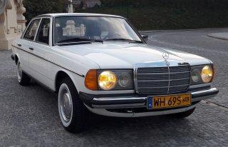 Mercedes W123 Beczka Warszawa