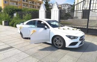 Auto do ślubu - Mercedes CLA - NOWY Egzemplarz 2021r. Mamy terminy :) Warszawa