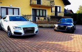 Audi a7 sline samochód do ślubu wynajem Myślenice