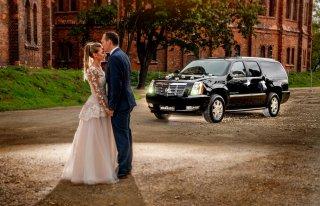Limuzyna do ślubu Cadillac Escalade Podkowa Leśna