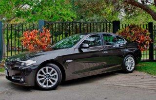 Luksusowe BMW 5 SMOLISTA CZERŃ. Specjalna oferta cenowa na 2017r!  Warszawa