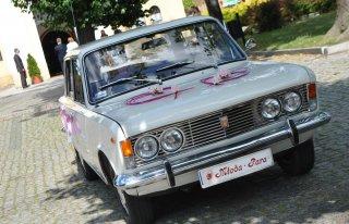 Fiat 125p 1975 r. - wynajem samochodu do ślubu - KLASYK  Żagań