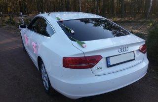 Wynajmę Audi A5 Biały-Wesela Brzesko