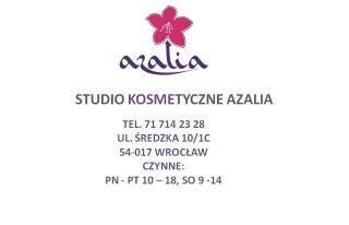 """Studio Kosmetyczne """"Azalia"""" Wrocław"""