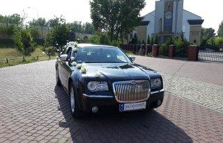 Samochód do ślubu limuzyna chrysler 300C Warszawa
