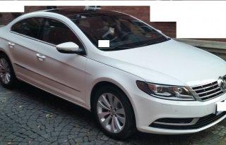 VW CC biały do ślubu auto samochód Piekary Śląskie