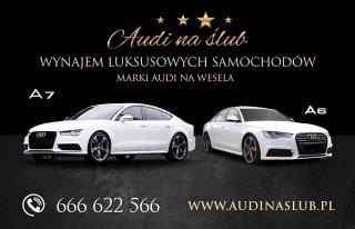 AudinaŚlub, NAJNOWSZE AUDI A7 Sline i RS6 / ślub i wesele Bielsko-Biała