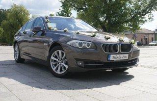 BMW 5 F10 Auto Samochód Limuzyna do ŚLUBU CZĘSTOCHOWA ŚLĄSK Częstochowa