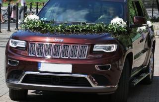 Jeep Grand Cherokee - duży luksusowy SUV do ślubu Poznań