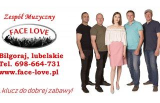 Zespół muzyczny FACE LOVE na wesele Biłgoraj Lublin Warszawa Biłgoraj
