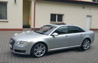 Audi A8 do ślubu Wrocław  tanio  Wroclaw