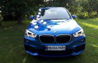 BMW X1+kierowca wynajem, wolne terminy wrzesień  Kraków