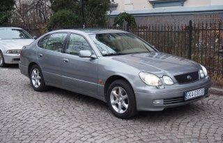 Wynajem okolicznościowy Lexusa GS430 Gdańsk