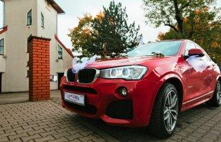 Luksusowe i niepowtarzalne do ślubu BMW X4 XDRIVE 2.0D / M pakiet Wrocław