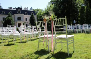 Ślub i wesele w plenerze Pałacu Bagatela Ostrów Wielkopolski
