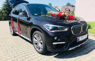 Auto do ślubu wraz z kierowcą BMW X1  Wieluń