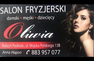 """Salon Fryzjerski """"Oliwia"""" Radzyń Podlaski"""