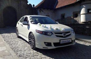 Auto Samochód do Ślubu Honda Biała Perła Accord Biały Bochnia