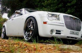 Chrysler 300c Biały do ślubu Katowice