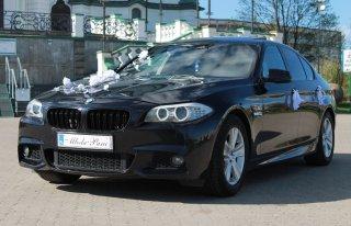 Auto do ślubu Białystok BMW F10 Wolne terminy w okazyjnej cenie ! Białystok