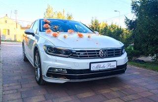 Auto samochód do ślubu Volkswagen Passat B8 R-Line 2016 Wołomin
