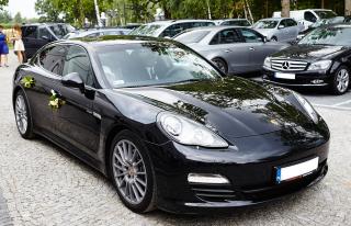 Do ślubu ekskluzywnym Porsche Panamera  Warszawa