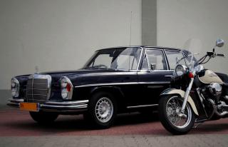 Zabytkowy Mercedes W108 wynajem Ślub Wesele auto na wesele Lublin FV Lublin