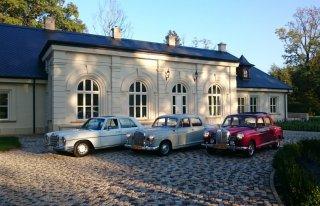 Do Ślubu, zabytkowe samochody MERCEDES, MG Kraków