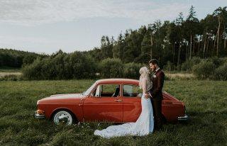 Klasyczne auto do ślubu - VW Typ 3 Fastback Gdańsk