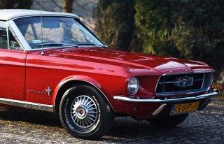Retro FORD MUSTANG 1967 kabriolet Kraków