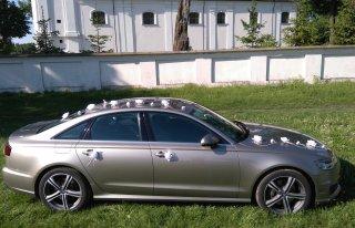 Ekskluzywne Audi A6 po faceliftingu auto do ślubu Piotrków Trybunalski