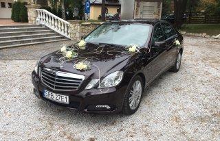 Logistic Mercedes klasy E do Ślubu  Rybnik