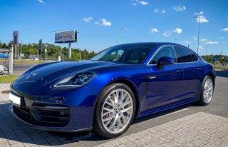 Nowe Porsche Panamera do ślubu Katowice