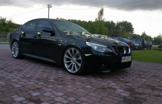BMW M5 do ślubu !!! Radom