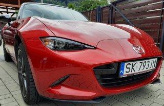 Idealne auto na ślub - Mazda MX5 Szczyrk