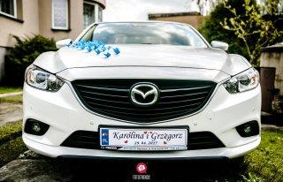 Samochód ślubny Mazda 6 Ruda Śląska
