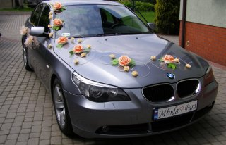 BMW E60 na ślub, tanio. Częstochowa