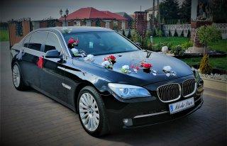 Auto do Ślubu BMW seria 7 LONG Limuzyna Łuków