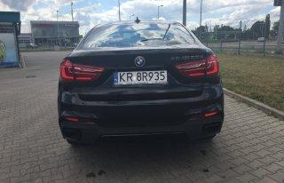 Najnowsze BMW X6 5.0D M kalisz
