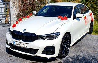 Luksusowe białe BMW do Ślubu! Najnowszy model 2020!  Kraków